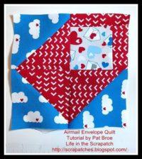 Feb block lotto - Valentine envelopes